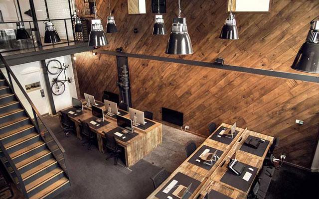 Uribe Schwarzkopf - uSpots - oficina estilo industrial