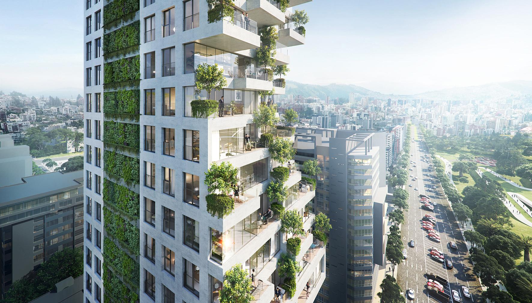 qorner - bosques verticales